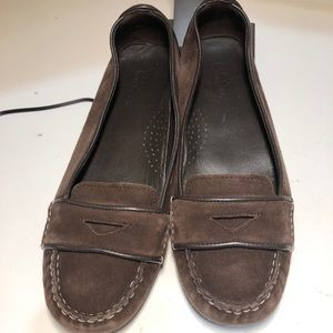 Cole Haan Brown Suede Loafer